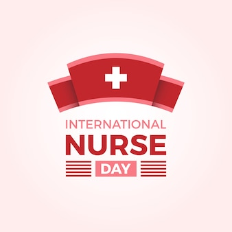 Fundo internacional do dia da enfermeira