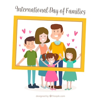 Fundo internacional do dia da família