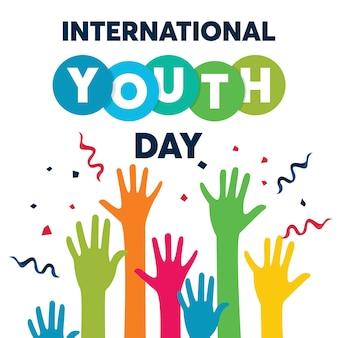 Fundo internacional do dia da juventude