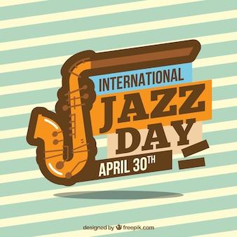 Fundo internacional do dia do jazz