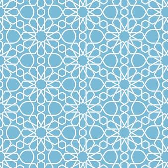 Fundo islâmico geométrico abstrato