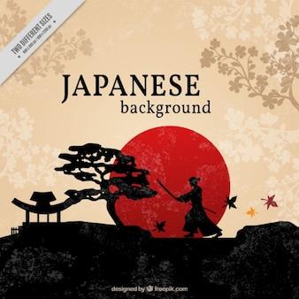 Fundo japonês bonito