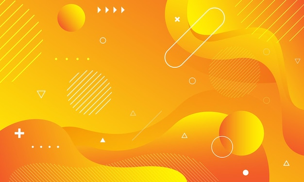 Fundo laranja abstrato