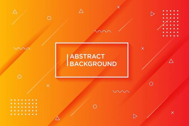 Fundo laranja gradiente texturizado dinâmico