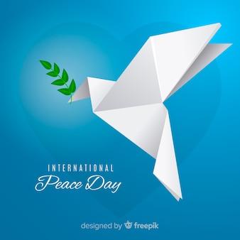 Fundo lindo dia da paz