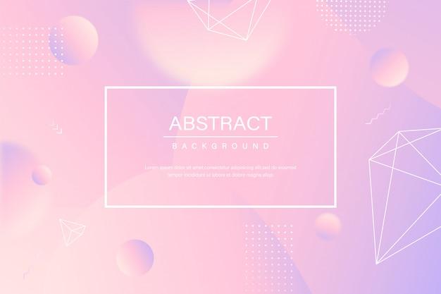 Fundo líquido abstrato roxo rosa
