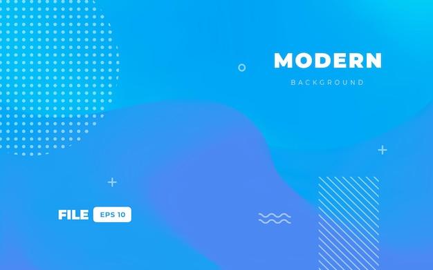Fundo líquido azul moderno