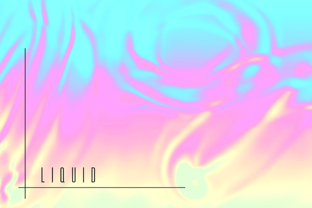 Fundo líquido colorido
