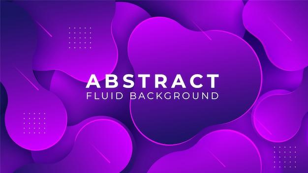 Fundo líquido gradiente fluido abstrato