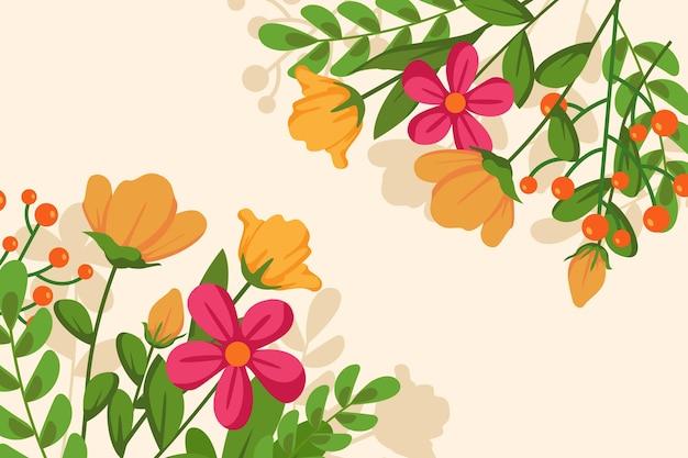 Fundo liso colorido da primavera