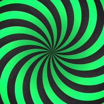 Fundo listrado abstrato fundo das formas 3d com listras verdes e pretas