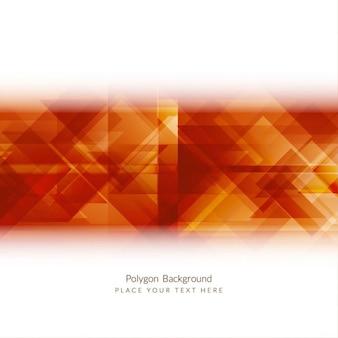 Fundo lustroso forma poligonal moderna