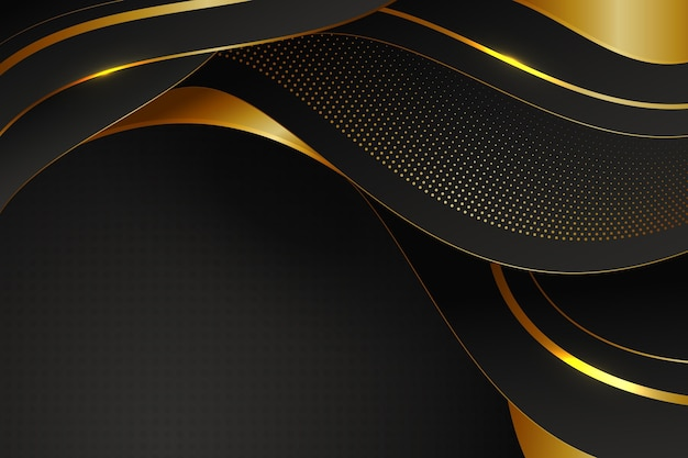 Fundo luxuoso com detalhes dourados