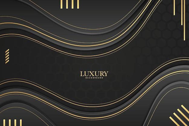 Fundo luxuoso estilo papel