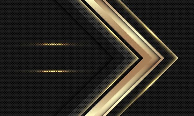 Fundo luxuoso moderno abstrato da seta do ouro.