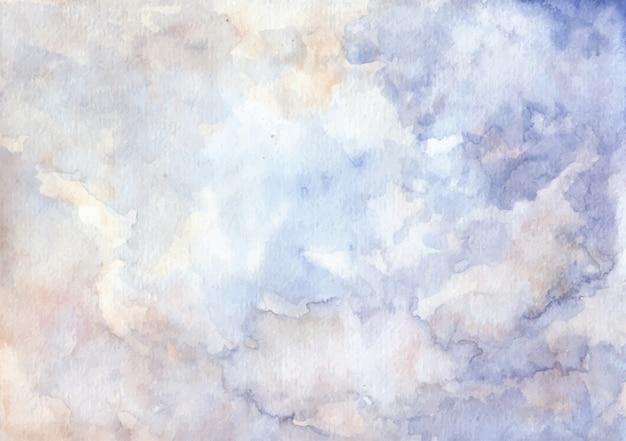 Fundo macio azul abstrato textura aquarela