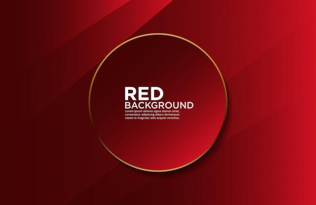 Fundo macio vermelho e dourado