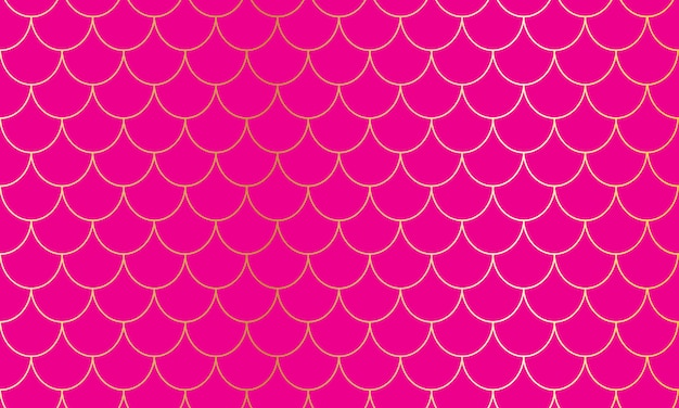 Fundo magenta. padrão rosa. escamas de sereia. escama de peixe.