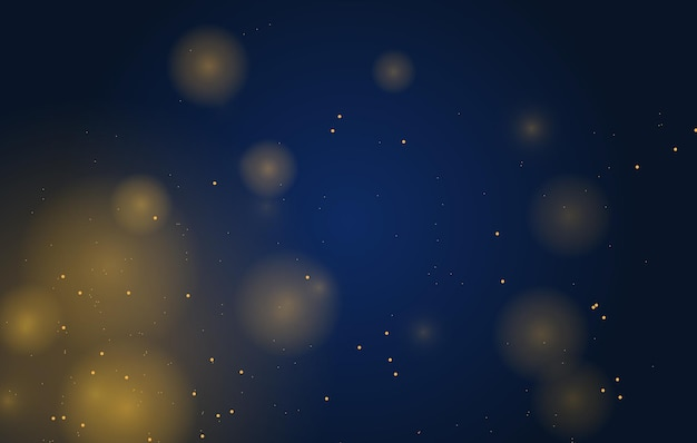 Fundo mágico abstrato com efeito de luzes