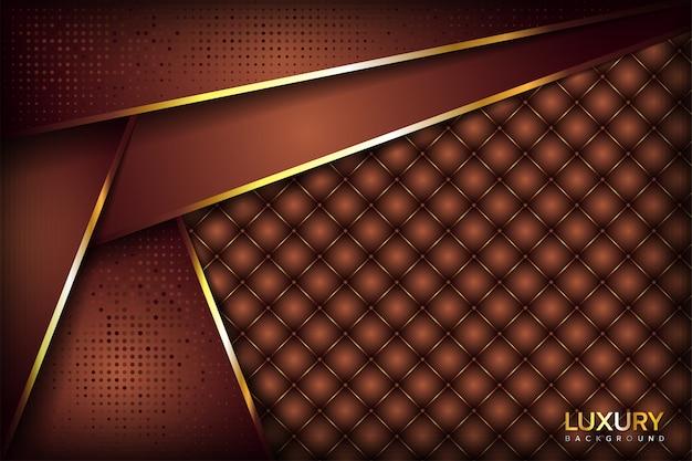 Fundo marrom dourado elegante luxuoso