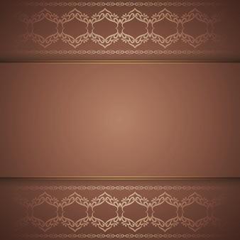Fundo marrom real elegante abstrato