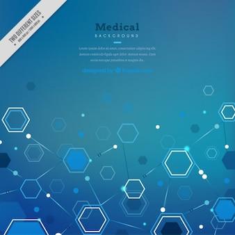 Fundo médico abstrato