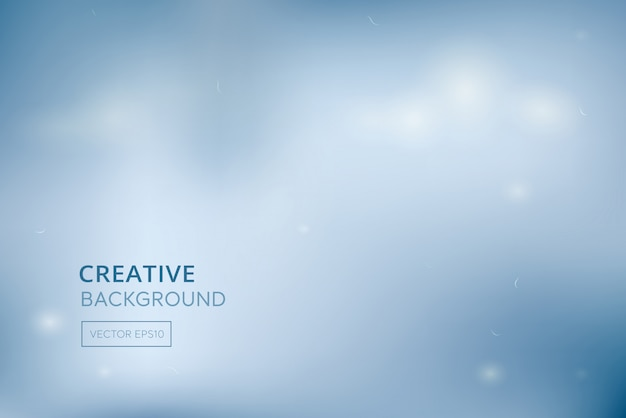 Fundo médico azul gradiente branco abstrato