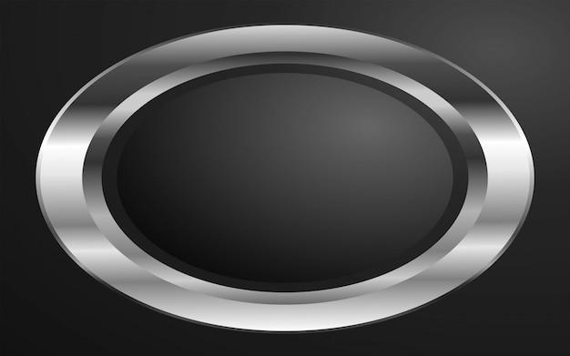 Fundo metálico anel