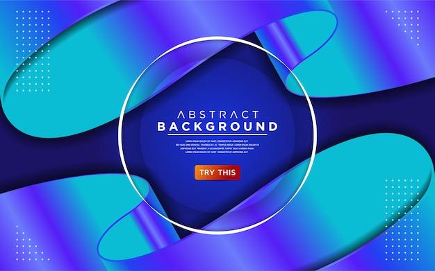 Fundo metálico composição gradiente azul e roxo.