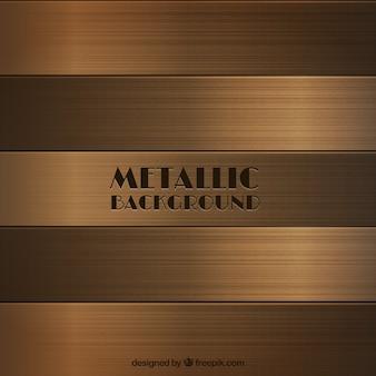 Fundo metálico de bronze