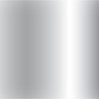 Fundo metálico gradiente prata abstrato