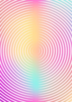 Fundo minimalista com gradientes
