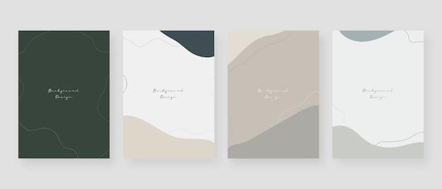 Fundo mínimo do conceito. fundos abstratos com espaço de cópia para o texto.