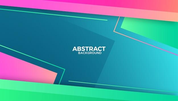 Fundo moderno abstrato colorido com formas gradientes