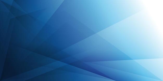 Fundo moderno abstrato com padrão de cristal transparente azul