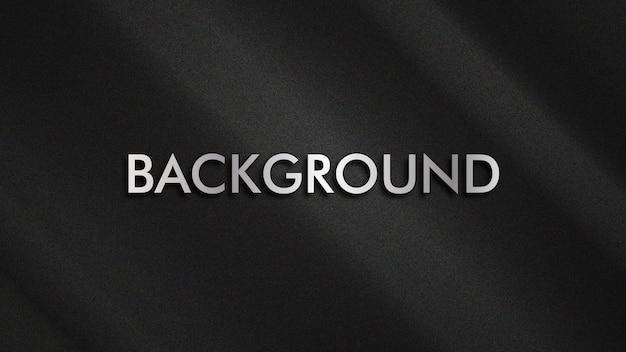 Fundo moderno cor preta textura lisa