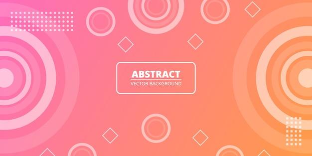 Fundo moderno de memphis. fundo colorido da forma geométrica gradiente. elementos de design para capa elegante, banner, livreto, cartaz, outdoor, revista, folheto, venda.