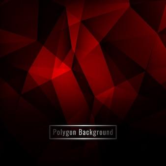 Fundo moderno de polígonos geométricos abstratos e coloridos