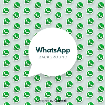 Fundo moderno de whatsapp