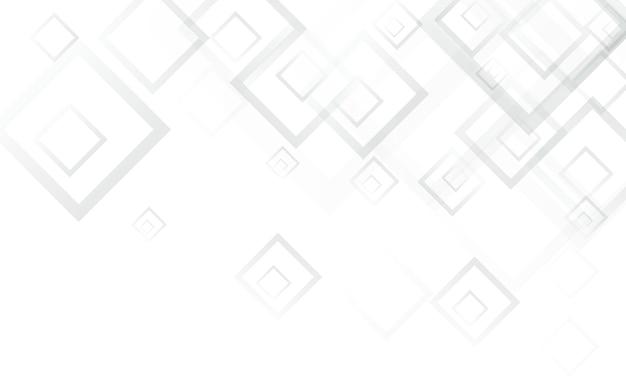 Fundo moderno do vetor da telha cinza. design quadrado do mosaico. pano de fundo de forma cinza. cartaz de arquitetura branca.