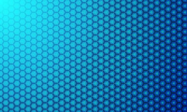 Fundo moderno do vetor do hexágono 3d.