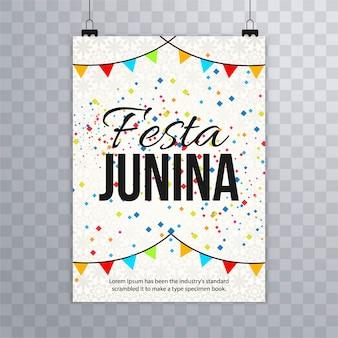Fundo moderno festa junina