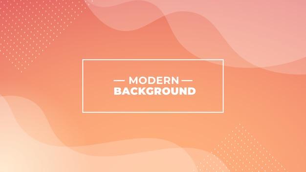 Fundo moderno gradiente de laranja