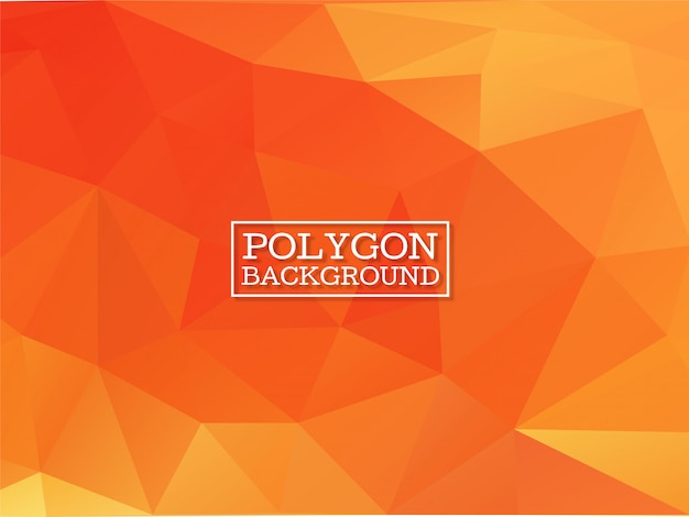 Fundo moderno polígono geométrico elegante