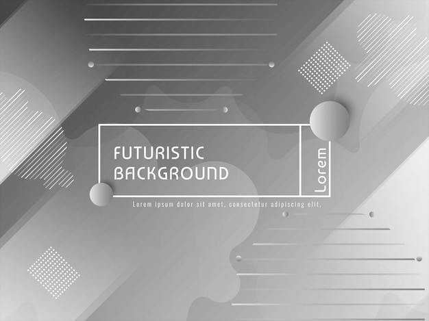 Fundo moderno techno futurista