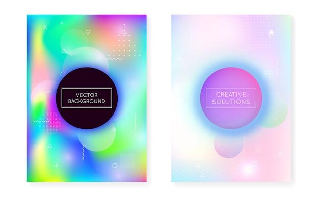 Fundo moderno. textura mínima. pontos simples. vibrant flyer.