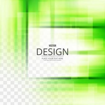 Fundo moderno verde brilhante