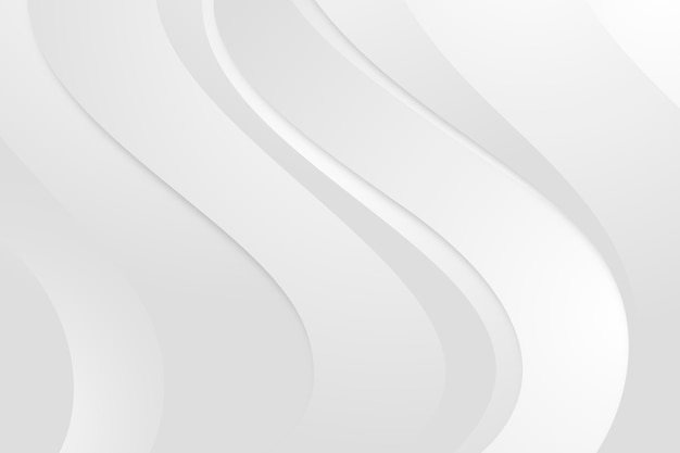 Fundo monocromático branco gradiente