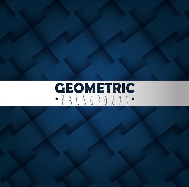 Fundo monocromático de figuras geometrics