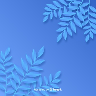 Fundo monocromático folhas